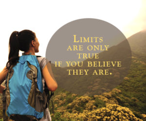 Limits are only true if you believe they are