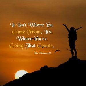 Move forward with purpose