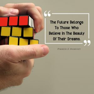 The future belongs to those who believe in the beauty of their dreams with Kira Wagner Enterprises