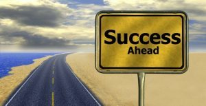 Wherever you are you can get on the road to success
