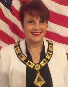 Kira  the 2019 & 2020 President of a local Elks Lodge