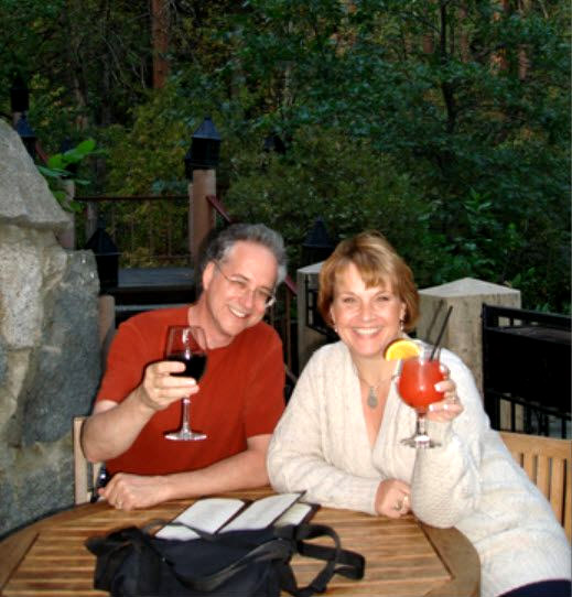 Kira and Paul in Yosemite