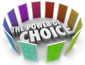 The Power Of Choice Is In Your Hands