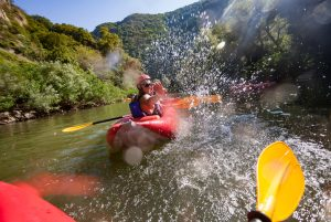 Imagine White Water Rafting with Your Freedom Guide, Kira Wagner